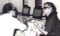 Two genious: RamaMurty with R K Laxman in 1978